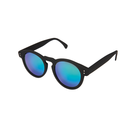 CLEMENT BLACK RUBBER BLUE/GREEN MIRROR